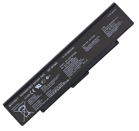 Sony Vgp-bps9 Battery Picture